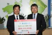 ㈜풍성인더스, 인천 중구에 저소득 노인 의료비 2천만 원 기탁